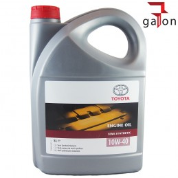TOYOTA ENGINE OIL SEMI-SYNTHETIC 10W40 5L
