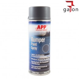 APP BUMPER PAINT SPRAY 400ML CZARNY