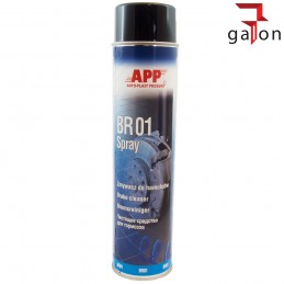 APP BR01 SPRAY 600ml ZMYWACZ DO HAMULCÓW
