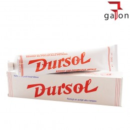 AUTOSOL DURSOL METAL POLISH 200ML - PASTA DO ALUMINIUM, CHROMU, METALU