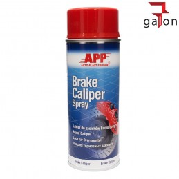 APP BRAKE CALIPER SPRAY 400ML CZERWONY