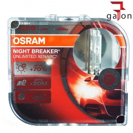 OSRAM NIGHT BREAKER UNLIMITED D2S 85V 35W P32d-2 XENARC