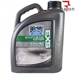BEL-RAY EXS ESTER 4T 10W40 4L SYNTETYK