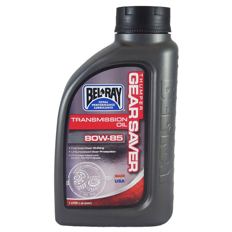 BEL-RAY THUMPER GEAR SAVER TRANSMISSION OIL 80W85 1L | Sklep Online Galonoleje.pl