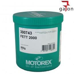 MOTOREX FETT 2000 850G SMAR | Sklep Online Galonoleje.pl