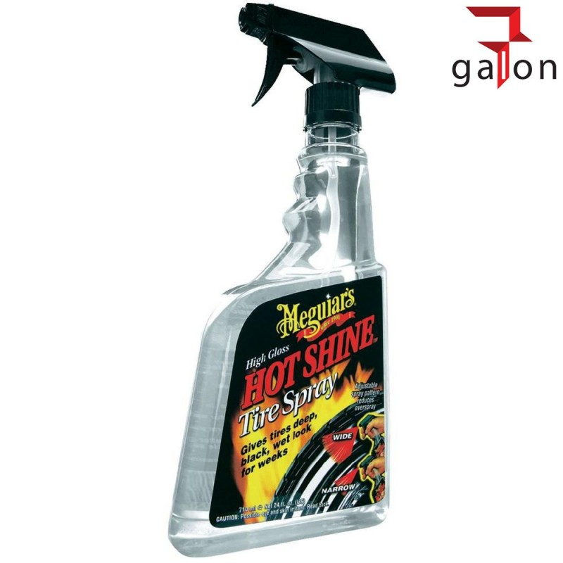 MEGUIARS HOT SHINE TIRE SPRAY 710ML G12024