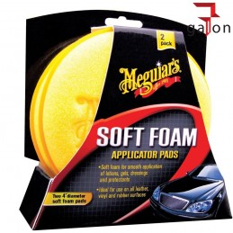 MEGUIARS SOFT FOAM APPLICATOR PAD X3070 (2 szt.) | Sklep Online Galonoleje.pl