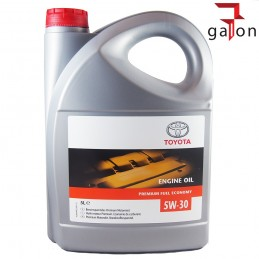 TOYOTA ENGINE OIL PREMIUM FUEL ECONOMY 5W30 5L