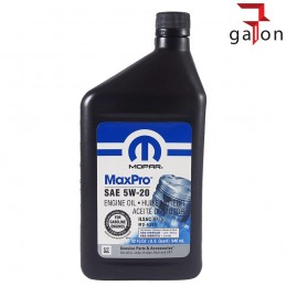 MOPAR MAXPRO 5W20 946ml | Sklep Online Galonoleje.pl
