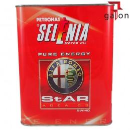SELENIA STAR PURE ENERGY 5W40 ALFA ROMEO 2l