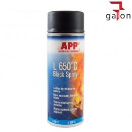 APP L650°C BLACK SPRAY 400ML lakier żaroodporny CZARNY | Sklep Online Galonoleje.pl