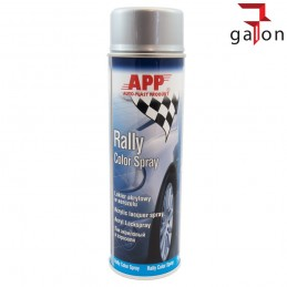 APP RALLY COLOR SPRAY 500ML LAKIER AKRYLOWY SREBRNY