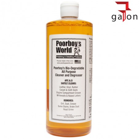 POORBOY'S WORLD BIO-DEGRADABLE ALL PURPOSE CLEANER & DEGREASER 946ML