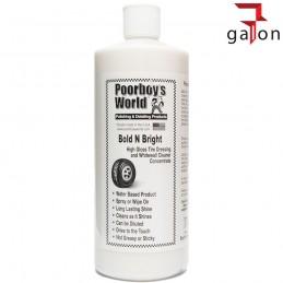 POORBOY'S WORLD BOLD BRIGHT TIRE DRESSING 946ML