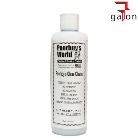 POORBOY'S WORLD GLASS CLEANER 473ML