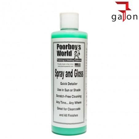 POORBOY'S WORLD SPRAY & GLOSS 473ML