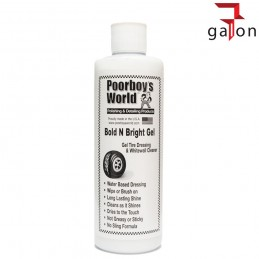 POORBOY'S WORLD BOLD BRIGHT TIRE DRESSING GEL 473ML