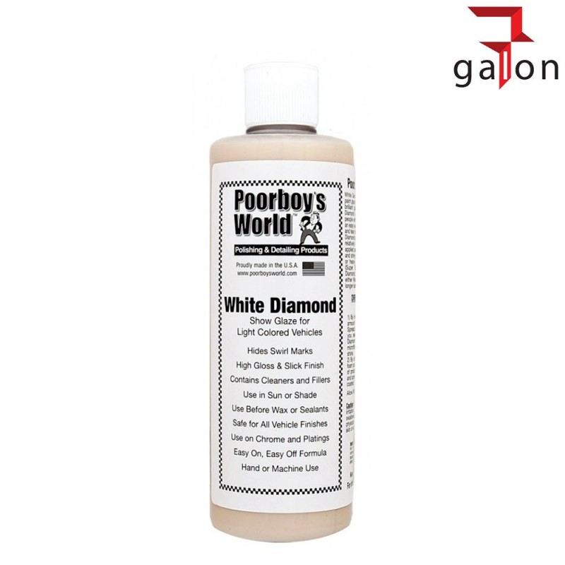 POORBOY'S WORLD WHITE DIAMOND SHOW GLAZE 473ML