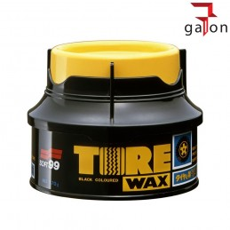 SOFT99 TIRE BLACK WAX - wosk do nabłyszczania opon