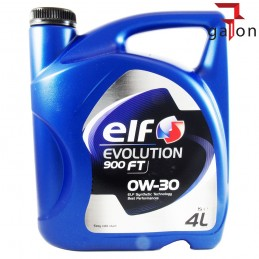 ELF EVOLUTION 900 FT 0W30 4L | Sklep Online Galonoleje.pl