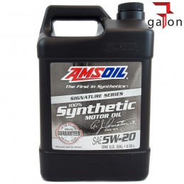 AMSOIL SIGNATURE SERIES SYNTHETIC MOTOR OIL5W20 3,78L ALM|Galonoleje.pl