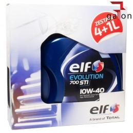 ELF EVOLUTION 700 STI 10W40 4L + 1L | Sklep Online Galonoleje.pl
