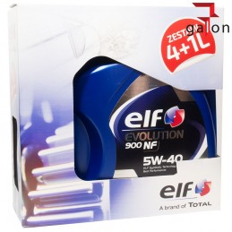 ELF EVOLUTION 900 NF 5W40 5L (4L + 1L) | Sklep Online Galonoleje.pl