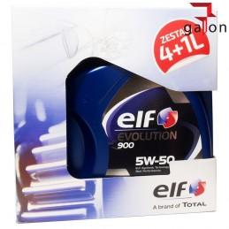 ELF EVOLUTION 900 5W50 5L (4L + 1L) | Sklep Online Galonoleje.pl