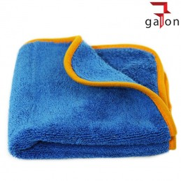 LARE BLUE-ORANGE TOWEL 40X40