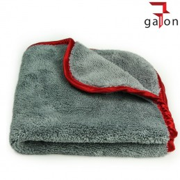 LARE GREY-RED TOWEL 40X40