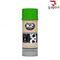 K2 COLOR FLEX- JASNY ZIELONY GUMA SPRAY 400ML