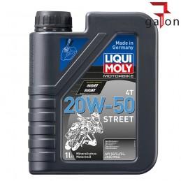 LIQUI MOLY MOTORBIKE 4T 20W50 STREET 1L 1500
