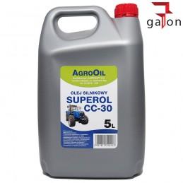 AGROOIL SUPEROL CC 30 5L - olej silnikowy | Sklep Online Galonoleje.pl
