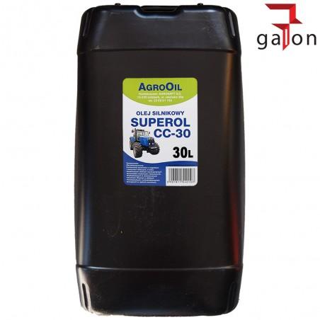 AGROOIL SUPEROL CC 30 30L - olej silnikowy
