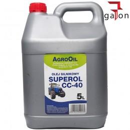 AGROOIL SUPEROL CC 40 5L - olej silnikowy |Sklep Online Galonoleje.pl