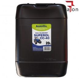 AGROOIL SUPEROL CC 40 20L - olej silnikowy |Sklep Online Galonoleje.pl