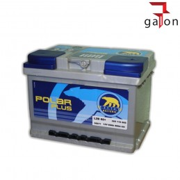 BAREN AKUMULATOR POLAR PLUS 60Ah 600A P+