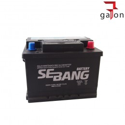 SEBANG AKUMULATOR 50Ah 450A P+