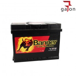 BANNER STARTING BULL AKUMULATOR 55Ah 450A P+