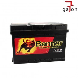 BANNER STARTING BULL AKUMULATOR 72Ah 650A P+
