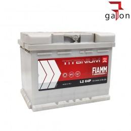 FIAMM TITANIUM PRO L2 64P AKUMULATOR 64Ah 610A P+