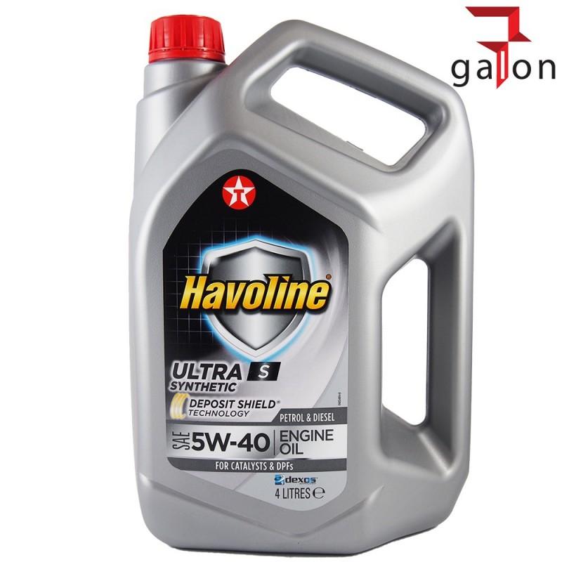 TEXACO HAVOLINE ULTRA S 5W40 4L | Sklep Online Galonoleje.pl