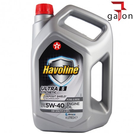 TEXACO HAVOLINE ULTRA S 5W40 4L