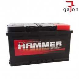 HAMMER AKUMULATOR 100Ah730A P+
