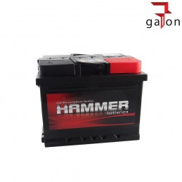 HAMMER AKUMULATOR 55Ah 440A P+