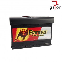 BANNER POWER BULL 7412 AKUMULATOR 74Ah 680A P+