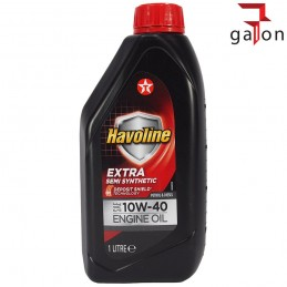 TEXACO HAVOLINE EXTRA SEMI SYNTHETIC 10W40 1L