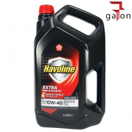 TEXACO HAVOLINE EXTRA SEMI SYNTHETIC 10W40 5L