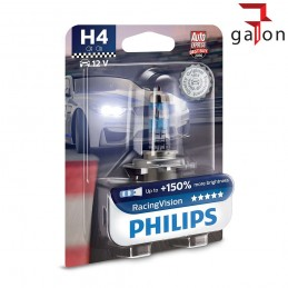 PHILIPS RACING VISION +150% H4 12V 60/55W 1szt