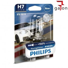 PHILIPS RACING VISION +150% H7 12V 55W 1szt